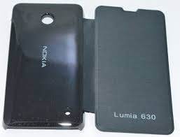 Generic Flip Cover For Microsoft/Nokia Lumia 720(Black)