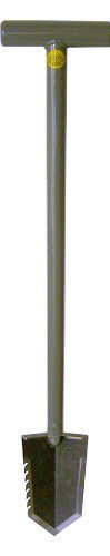 Lesche 1V_WWMFG-32-SER T- Handle Heavy Duty Metal Detecting Shovel with Serrated Blade
