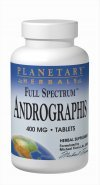 PLANETARY HERBALS, Full SpectrumTM Andrographis - 60 tabs