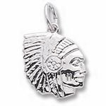 Rembrandt Charms Indian Charm - Sterling Silver