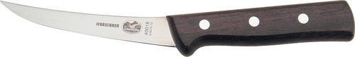 "Forschner / Victorinox 5"" Rosewood Boning Knife Curved, Flexible, Handle Model 40018"
