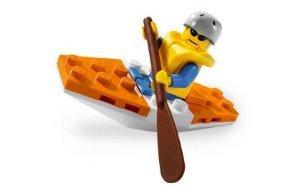 Lego (レゴ) City Set #5621 Mini フィギュア 人形 Coast Guard Kayak ブロック おもちゃ (並行輸入)