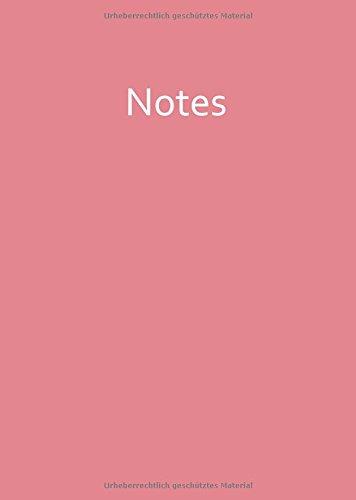 Notizbuch - A4 - STRAWBERRY ICE: Notes - rosa - liniert