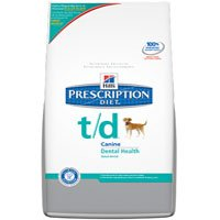 Hill's Prescription Diet t/d Dental Health Dry Dog Food 5 pounds