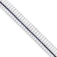 Sterling Silver 10mm Cubetto Bracelet