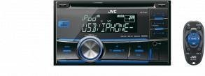 Buy JVC Car Audio - JVC KWR500 CAR STEREO DOUBLE DIN CD MP3 USB DUAL AUX IN DASH (KWR500) -
