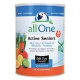 All One Powder Multiple Vitamins & Minerals for Active Seniors, 2.2-Pound Can ~ All One