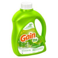 Gain With Clean Boost Liquid Detergent, 100 oz, 52 lds (037000840596)