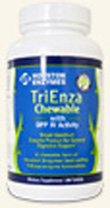 TriEnza Broad Spectrum Enzymes 180 Chewables By Houston Enzymes