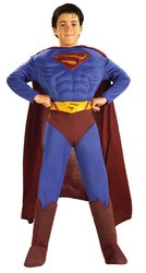 Toddler Deluxe Muscle Chest Superman Returns Costume (size 2-4)