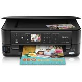 New-Epson C11CA70271 - Stylus NX625 Wireless All-in-One Inkjet Printer, Cop ....