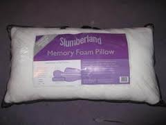 MEMORY FOAM pillow (slumberland)
