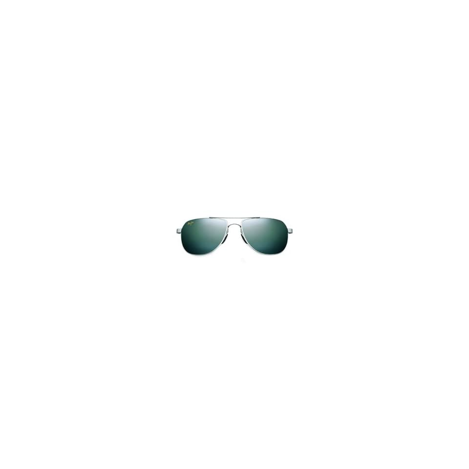 85c55c9de9c4 Maui Jim Guardrails Polarized Flex Sunglasses Silver on PopScreen