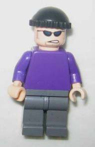 Joker's Henchman - LEGO Batman Figure - 1