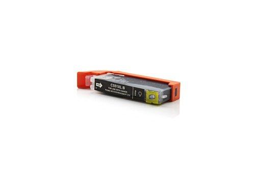 Canon Pixma IP 7250 Tinte Alternativ Druckerpatrone 1 Stück Black ersetzt Canon 6443B001 für Tintenstrahldrucker
