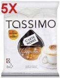 5 x Tassimo T-Discs Carte Noire Cappuccino