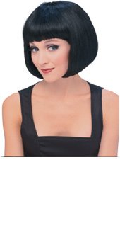 Rubie's Costume Co Women's Black Super Model Wig, Black, One Size