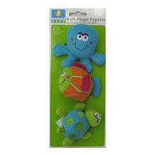 Especially For Baby Baby Bath Finger Puppets ~ Under The Sea at Sears.com