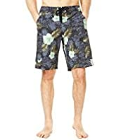North Coast Painted Floral Swim Shorts