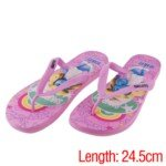 Womens Plastic Summer Sandals Slippers With Smurf Pattern For Indoor/Outdoor(39 Size) front-763737