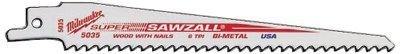 "Milwaukee Electric Tools - 6"" 5Tpi Super Sawzall Bl - 495-48-00-5035"