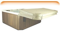 Cover Shelf Spa and Hot Tub Cover Holder