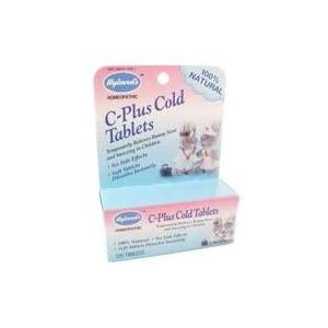 Hylands Homeopathic, C-plus Cold Tablets, 125 Tab
