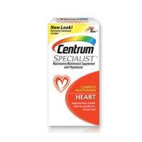 Centrum Centrum Specialist Multivitamin/Multivitamin Tablets For Heart, 60 Tabs (Pack Of 3)