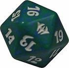 MTG Magic the Gathering Dark Ascension Green and White Spin Down Counter NEW Die