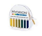 Micro Essential Lab 334 Hydrion Short Range pH Test Paper Dispenser, 4.5 - 7.5 pH, Single Roll