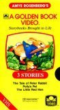 3 Golden Amye Rosenberg Stories (The Tale Of Peter Rabbit / Polly's Pet / The Little Red Hen)