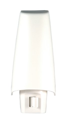 GE 52194 White Shade Incandescent Night Light