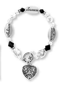 DMM Expressively Yours Bracelet - Achieve, Success, Believe