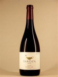 ヤルデン シラー[2007] Yarden Syrah 2007