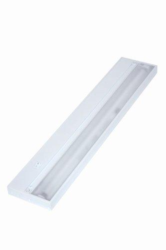 Juno Lighting UPF22-WH Pro-Series Fluorescent Under cabinet Fixture, 22-Inch, 4-Lamp (Designer White)