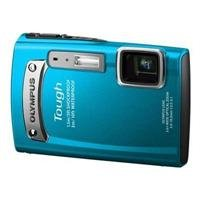 Olympus TG-320 Blue 14MP Touch Series Camera with 3.6x Optical Zoom (Blue)