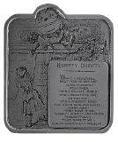 Humpty Dumpty Alice In Wonderland Belt Buckle