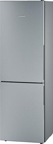 Bosch KGV36VE32S réfrigérateur-congélateur - réfrigérateurs-congélateurs (Autonome, Bas-placé, A++, Chrome, Gris, Métallique, ST, LED)