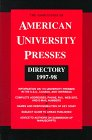 The Association of American University Presses Directory 1997-98 (Association of American University Presses Directory, 1997/98)