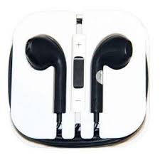 KARP Premium Quality Fancy Earpods For iOS Compatible devices With Mic (White)