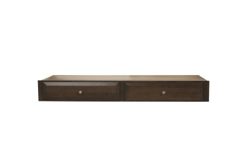 Offspring Kenora 2 Drawer Crib Storage, Cocoa