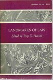 img - for Landmarks of Law Highlights of Legal Opinion book / textbook / text book