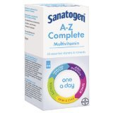 Bayer Healthcare EDI (OTC) Sanatogen A-Z Complete Tablets One-A-Day 60 Pack
