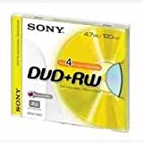 Sony DVD-RW 4.7Gb Pack of 5 5DMW47