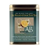 D'Adamo Personalized Nutrition Sip Right 4 Your Type Tea Ab 20 Sachets