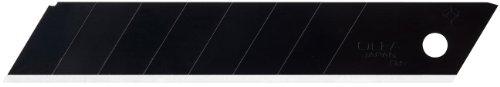 Olfa 9069 Lbb-50B 18Mm Ultrasharp Black Snap-Off Heavy-Duty Blade, 50-Pack