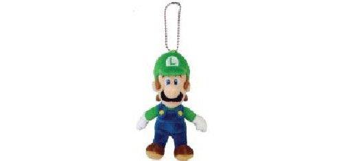 "Global Holdings Super Mario Plush Key Chain - 5.5"" Luigi Mascot Strap - 1"