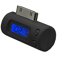 Black FM Transmitter For iPod, iPhone 3G, & 3G S