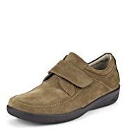 Airflex™ Comfort Leather Wide Fit Riptape Shoes