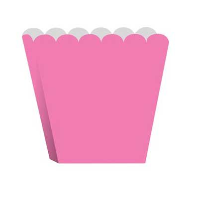 Creative Converting Treat Boxes, Candy Pink,